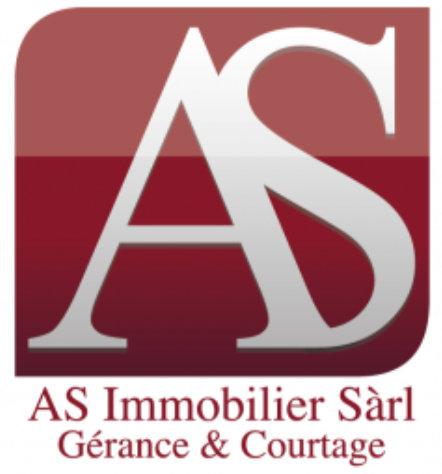 Logo : AS Immobilier - version imprimable